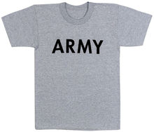 Army Physical Training, Gray T shirts, 100% cotton quality