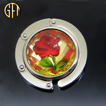 Factory direct metal handbag flower hanger