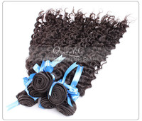 Double drawn lowest price European human remy virgin hair deep wave bouncy curly
