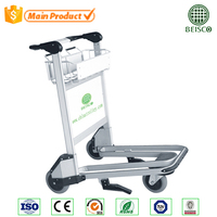 Top Sale Aluminum Hand Airport Trolley