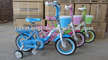 lovely kids girls kids bike with white wall tyre children bicycle