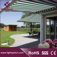 4x4 outdoor aluminum canopy retractable awning manufacturer