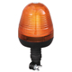 12V/24V Amber/Green E-MARK LED Flash Warning Light Super Warning Beacon Light with Flexible DIN Mount