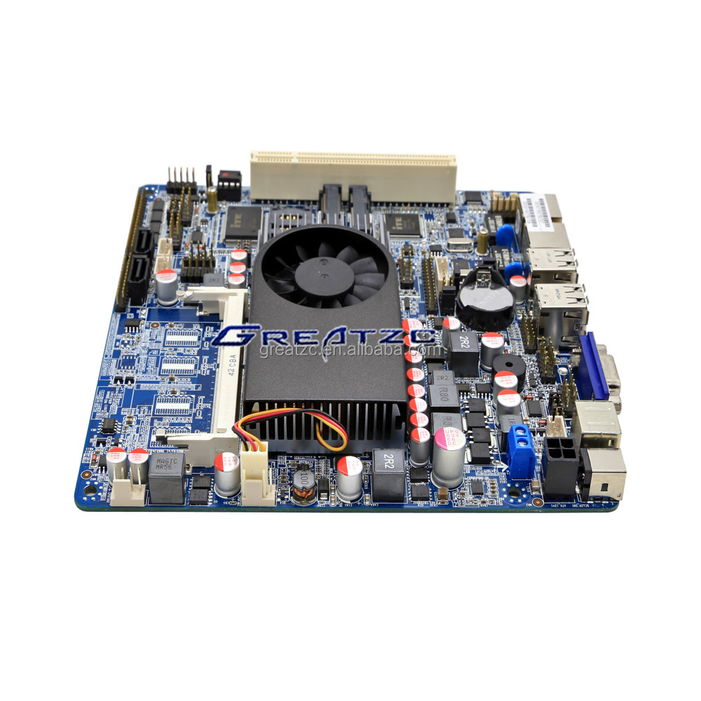 ZC-T70-3317 I5 MINI ITX Motherboard With Dual LAN, Industrial Mini Motherboard With VGA,LPT,LVDS,GPIO,6*RS232 COM, 7*USB2.0, PCI
