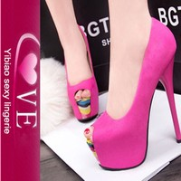 Factory Price Good Quality Colorfuls New Style Fashion High Heel Shoes