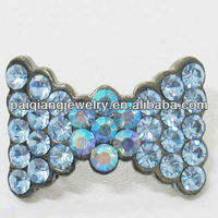 Colorful Buckle Diamond Shoe Accessories Bows