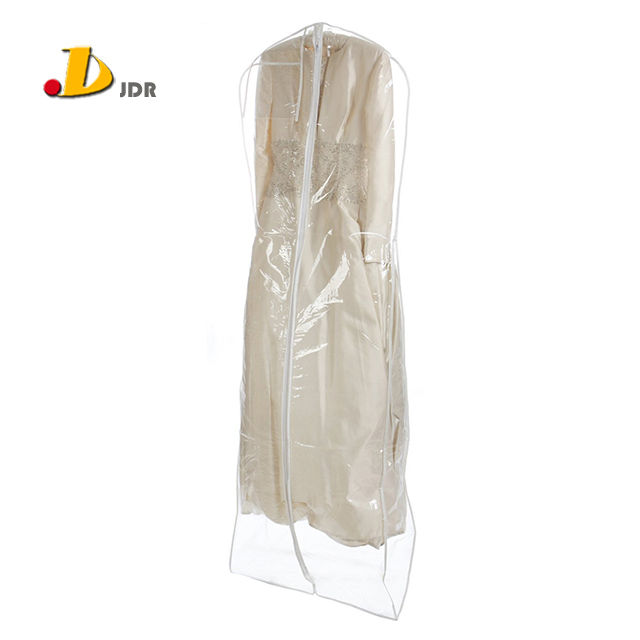 Clear PVC Wedding Dress Garment Bag Wholesale