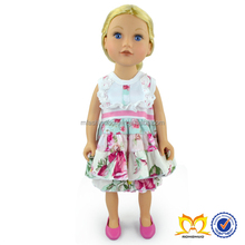 18 Inch American Girl Doll Clothes Wholesale Summer Boutique Doll Clothes And Ruffle Pants Set