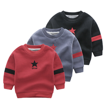 weihai Custom made factory price long sleeve cotton <strong>child</strong> kids boys <strong>hoodies</strong> with good price