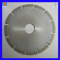 high quality saw for ceramic tiles/stone/concrete/glass China Manufacturer-Welded saw