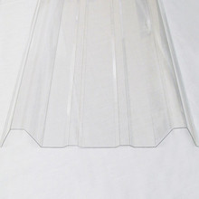 uv pc corrugated sheet, solar corrugated polycarbonate sheer for roofing