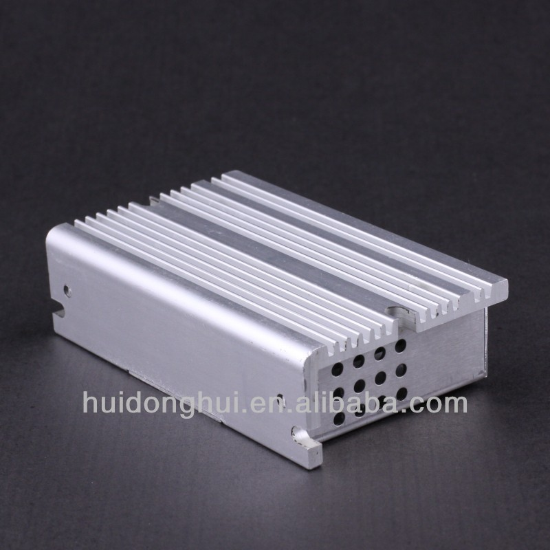 2014new pure aluminum mini itx case for Industrial pc