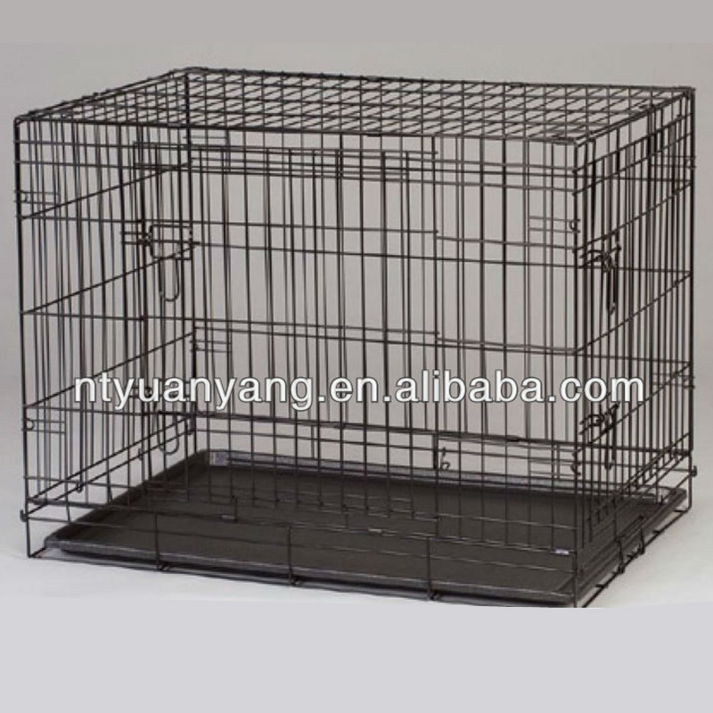 Foldble Metal Large commercial dog cage