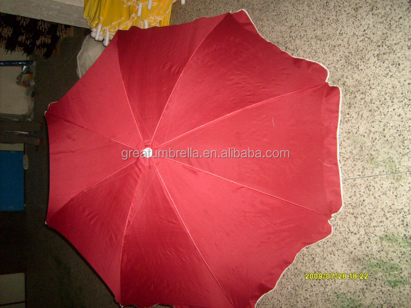 Hot Sale Beach Umbrellas outdoor umbrella metal frame