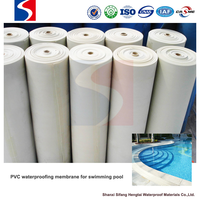 1.2mm polyvinyl chloride(PVC) waterproofing membrane for bathroom floor