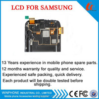 LCD Screen for samsung galaxy Note 2 lcd N7100 digitizer assembly for samsung galaxy Note 2 N7102 lcd touch screen with frame