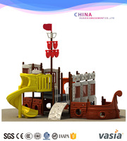 Pirate Ship LLDPE imported Wenzhou Outdoor Playground For Promotion