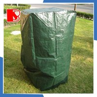 china pe tarpaulin factory high quality PE cloth waterproof garden chair cover outdoor furniture covers