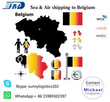 Shipping cost from China to Belgium