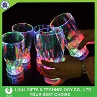 Promotional Logo Plastic Led Cola Glass, Led Cola Cup
