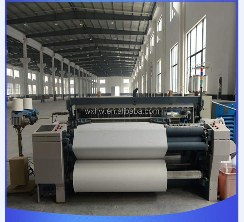 high speed heavy duty air jet loom