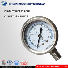 Bourdon tube small wind pressure gauge manometer
