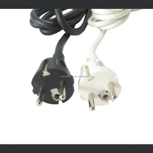 High Quality 2 Pin France Electrical Power Plug European Standard Extension Cord AC Power Cord