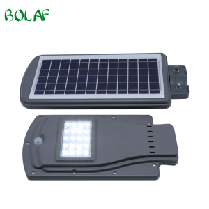 All In One Integrated Solar Street Light Ip65 20W 40W 60W 25Pcs Led Chip Solar Power Street Light