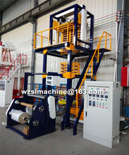 Ruian production control High speed High output Plastic PE film blowing machine