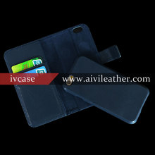Finest Workmanship & Quality Top Grade Leather Soft Cowhide Leahter Wallet Case For Iphone 6 6s Cover