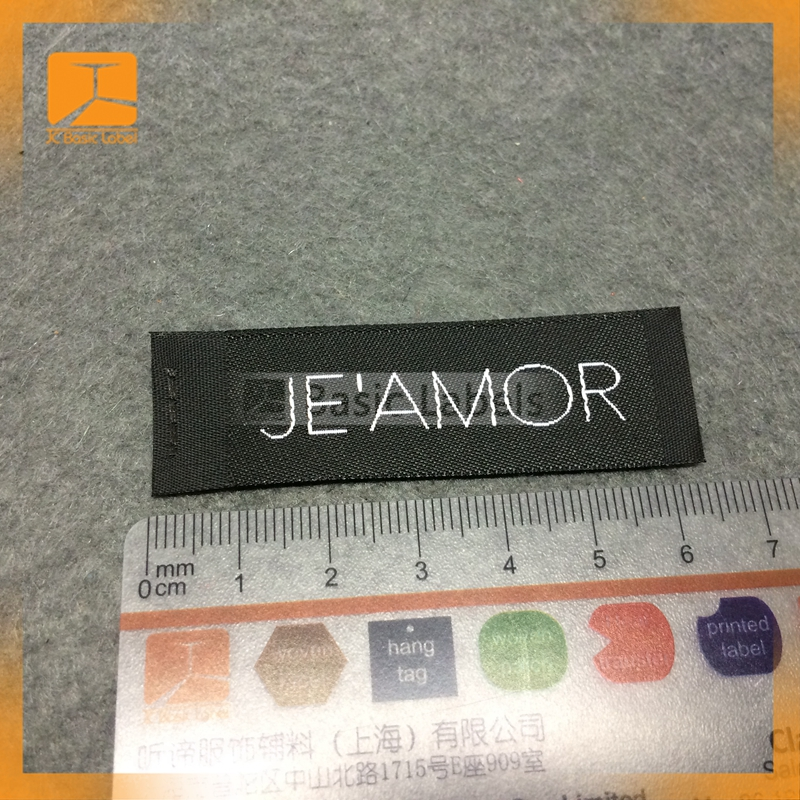 new high quality woven clothing label,Free sample