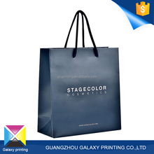 Factory price paper bag design customized logo printed popular bags paper hand bag