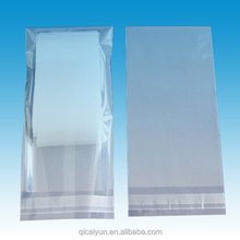 hot sale custom oxo bio degradable eco-friendly clear plastic bag for garments
