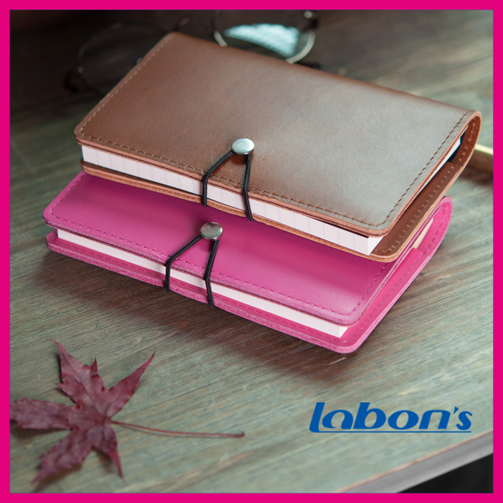 Soft Cover Leather Notebook,Faux Leather Notebook Cover,Emboss Leather Notebook