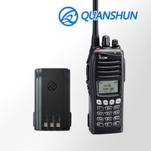 Max capacity replacement chargeable 2500mAh li-ion battery walkie talkie batteries for radio