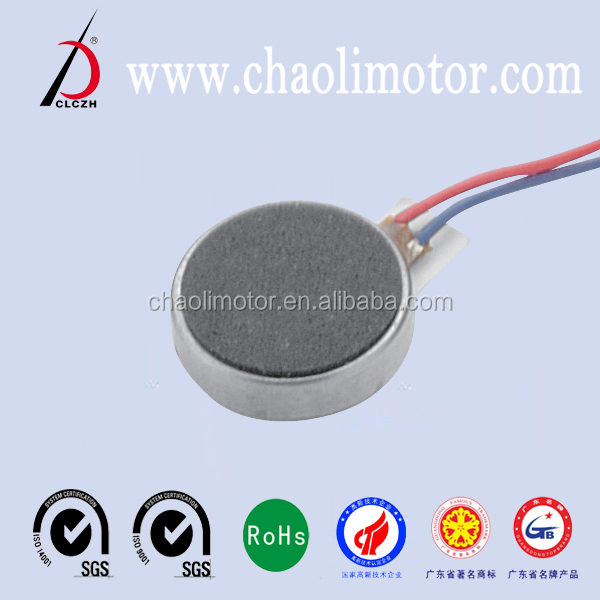 made in china coin vibration dc motor CL-0834 for mobile phone, vibrating massager, toy,electronic watch,etc