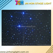 Theatre stage twinkle led/fiber optical star light cloth