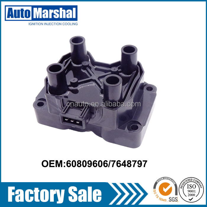 high quality 12v ignition coil fit for FIAT 60809606