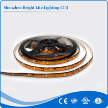 UL Listed Waterproof 12V 2835 Warm White 30led led strip for clothes