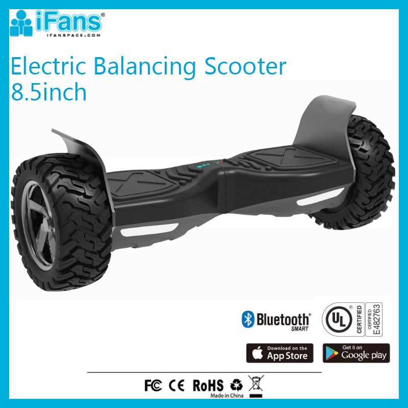 Adult Electric Mobility Scooter 8.5inch Self balancing hoverboard With Big Wheels UL2272 Certificated