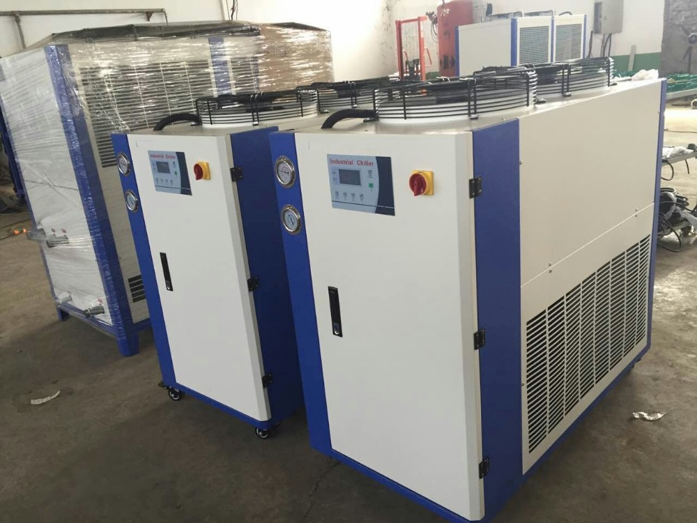 Industrial Eco-friendly Refrigerant Emerson Air Cooled Portable Water Chiller 2 Ton From Factory