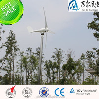 2015 best selling model 500w 12/24/48v wind generator /windmill for home use made in china