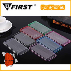 Transparent Clear TPU case for iPhone 6