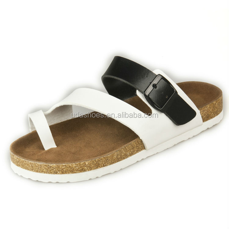 2017 shoes men shoes sandal with cork footbed sandals comfortable <strong>slippers</strong> for lovers C1034
