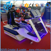 9d vr racing and flight cockpit city car driving simulator flight simulator for sale