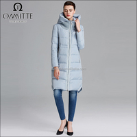 Fashion Design Knee Length Jackets Women 2016 Winter
