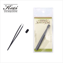 KEQI The Best Precision Stainless Steel eyebrow Tweezers slant tweezers For Personal Care