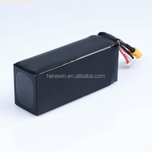 Hot sell high performance li-polymer 20c 14.8v 10000mah battery for aerial photography