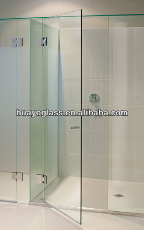 glass partitions for shower room