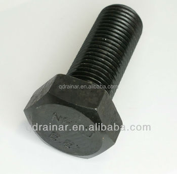 12.9 M30-M45 black heavy hex bolt